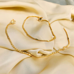 BEAUTIFUL DAILYWEAR GOLDEN ANKLET
