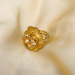 Beautiful Golden Plating Gungru Ring