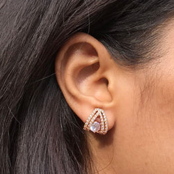 American Diamond Stud Earring