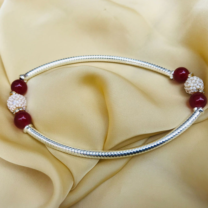 High Quality Pearl Ball Anklet