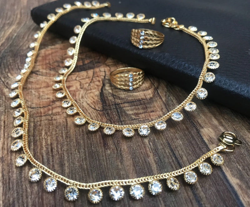 Beautiful Anklet Combo Jewellery