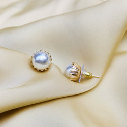 Exclusive Pearl Stud Earring