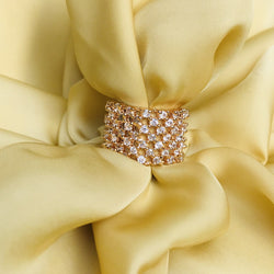 Rose Gold American Diamond Ring