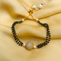 Hand Golden Ball Mangalsutra
