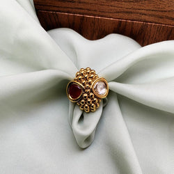 Antique Golden Beautiful Ring