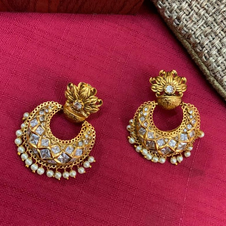 Antique High Quality Fusion Earring