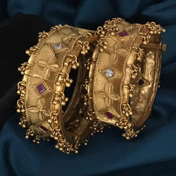 High Quality Antique Brass Bangles