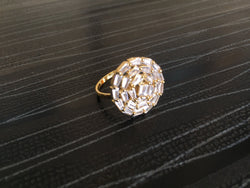 Choki Diamond Round Ring