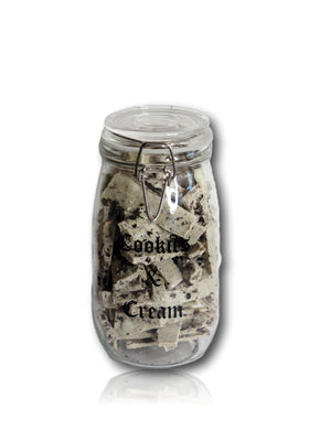Cookies and Cream Jar