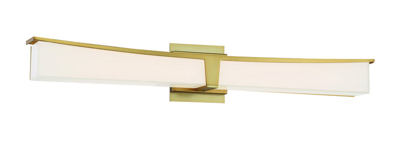 George Kovacs - P1534-248-L - LED Bath - Plane - Honey Gold