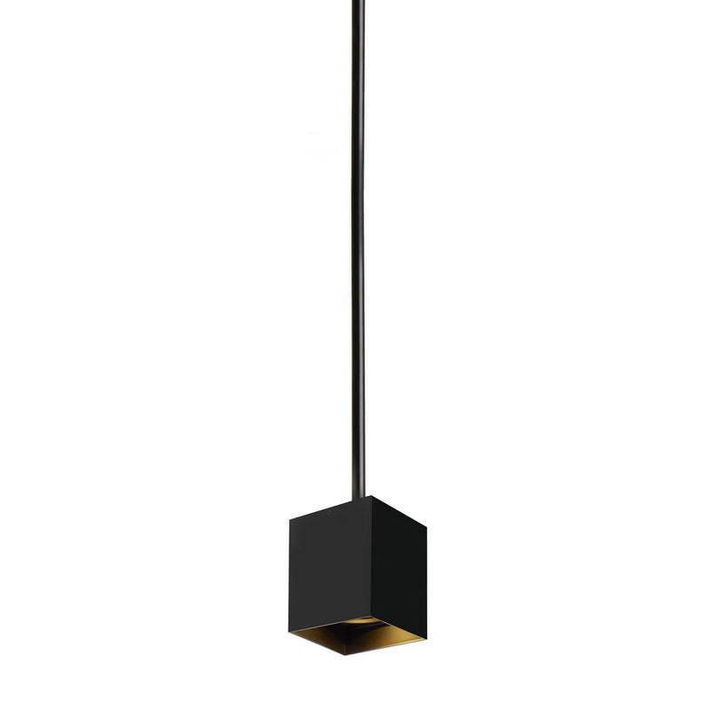 Tech Lighting - 700TDEXOP62420BB-LED930 - LED Pendant - Exo - Black