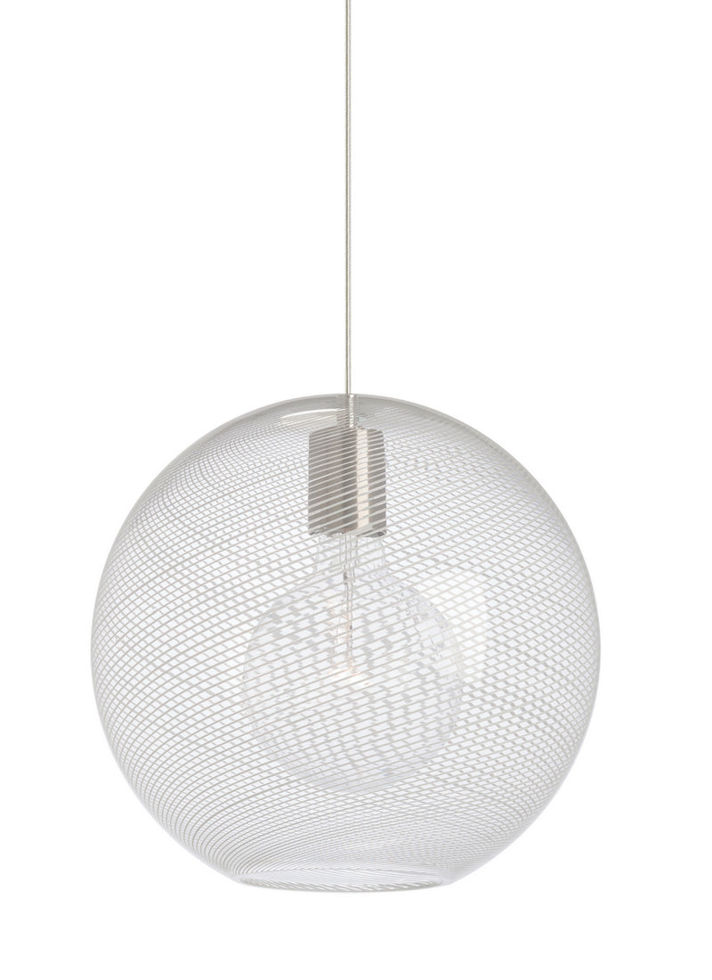 Tech Lighting - 700TDPALPMOCS - Pendant - Palestra - Satin Nickel