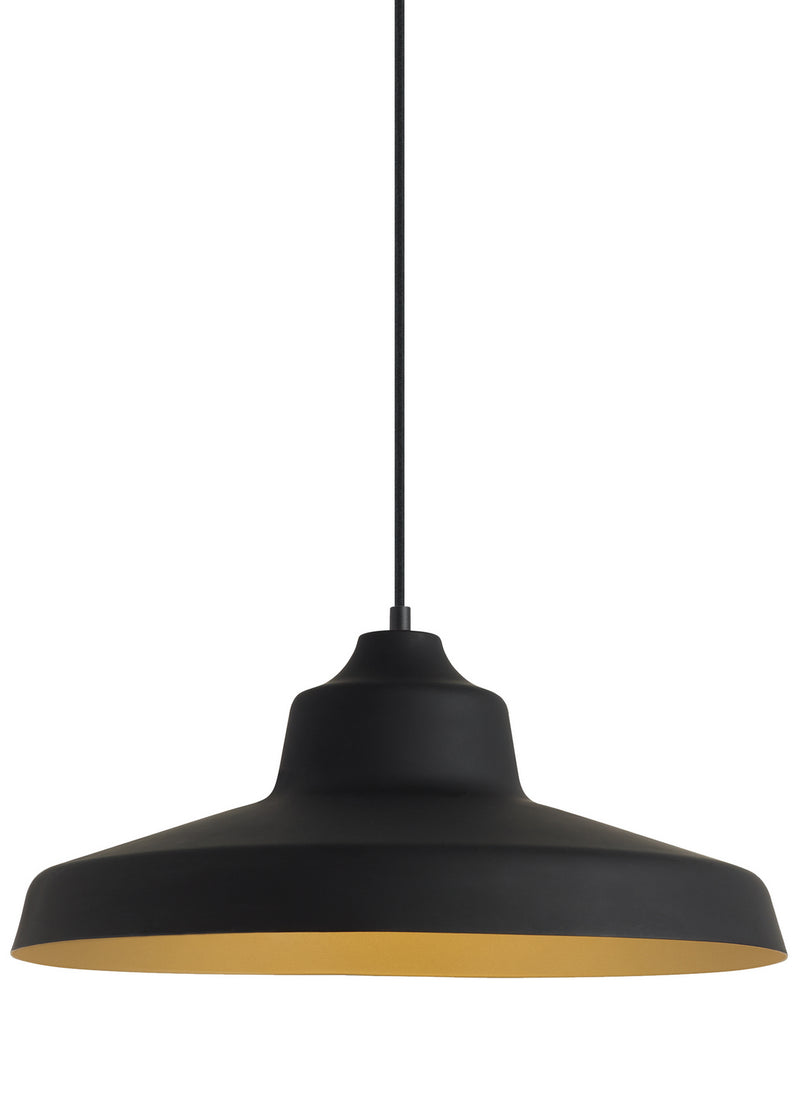 Tech Lighting - 700TDZVOBG-LED930 - LED Pendant - Zevo - Black/Gold