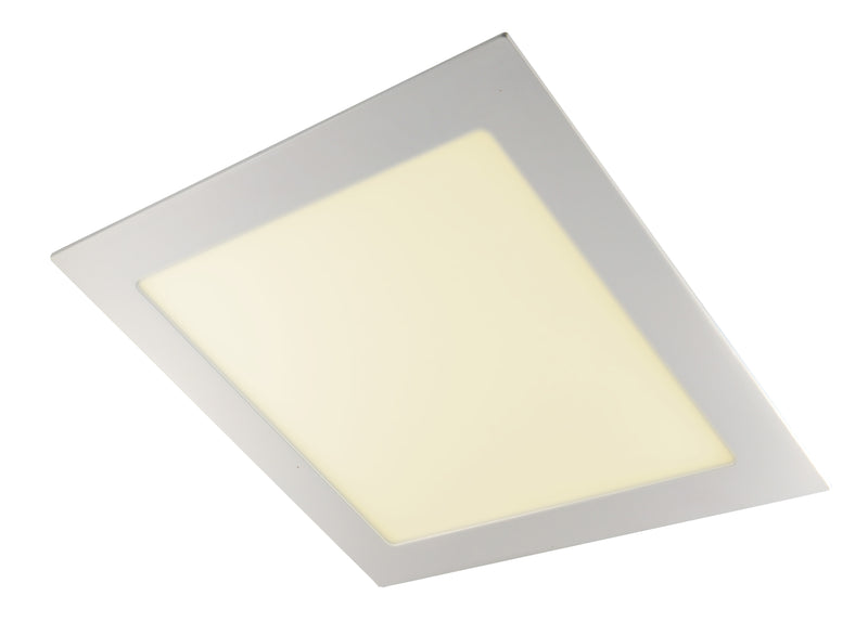 PANEL LED CUADRADO EMBUTIDO COLOR BLANCO 18W 2700K