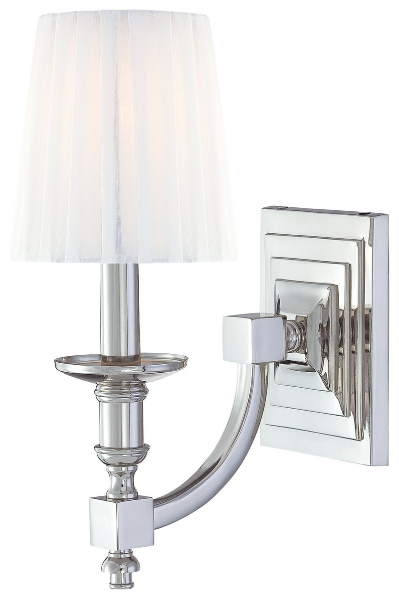 Metropolitan - N2641-613 - One Light Wall Sconce - Continental Classics - Polished Nickel