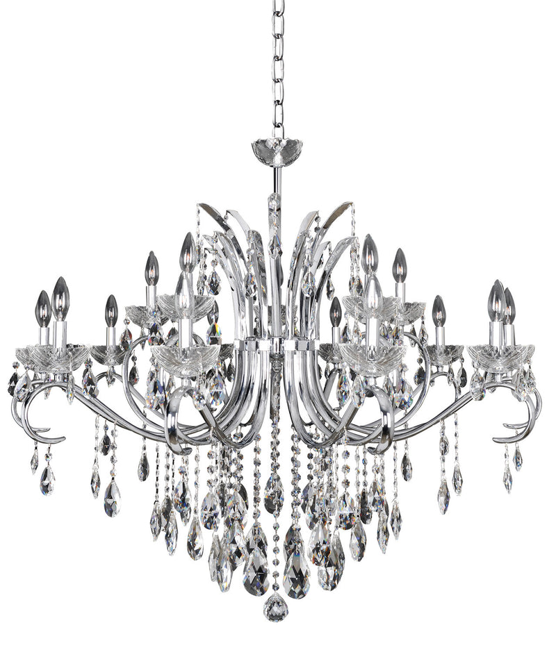 Allegri - 023850-010-FR001 - 15 Light Chandelier - Catalani - Chrome