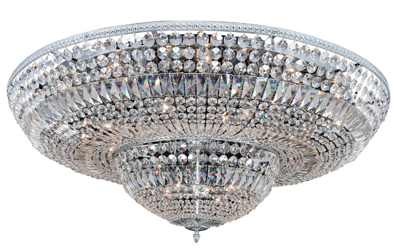 Allegri - 025947-010-FR001 - 24 Light Flush Mount - Lemire - Chrome