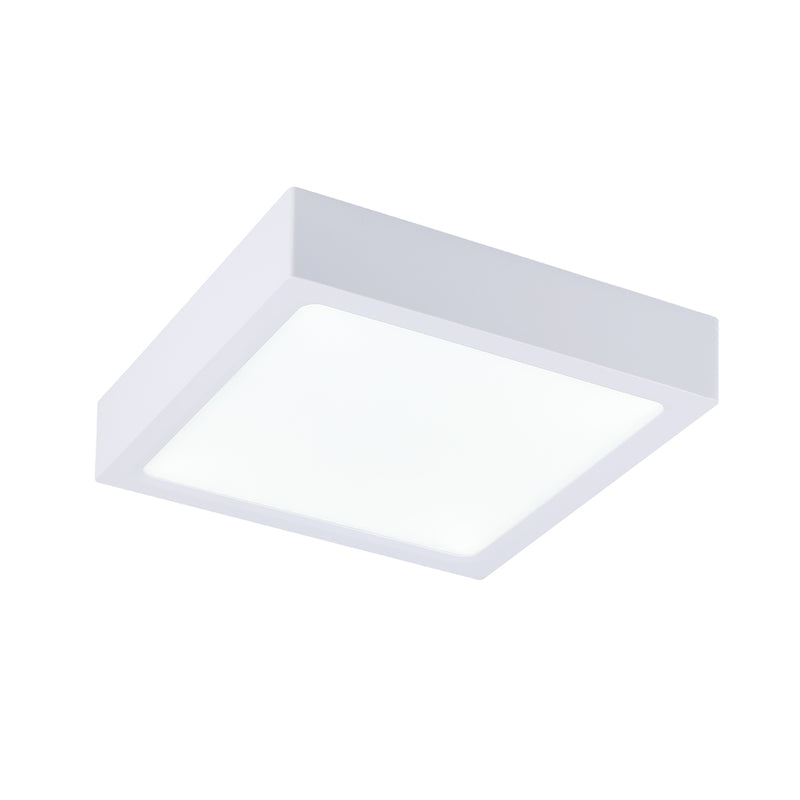 LÁMPARA DE TECHO TIPO PANEL LED CUADRADO SUPERFICIAL DE 24W 2400LM 6500K 100/240V 50/60HZ DIMENSIONES: 2850MMX28MM, ACABADO EN BLANCO MATE, MARCA LIGHTSOURCE.