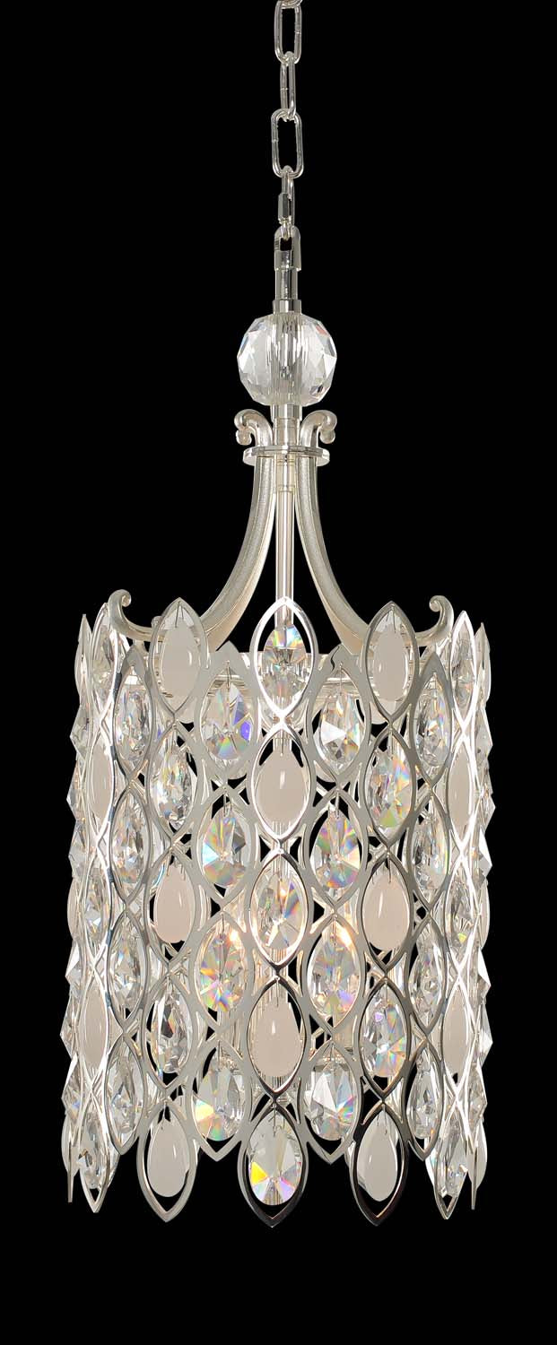 Allegri - 028751-017-FR001 - Three Light Foyer Pendant - Prive - Silver