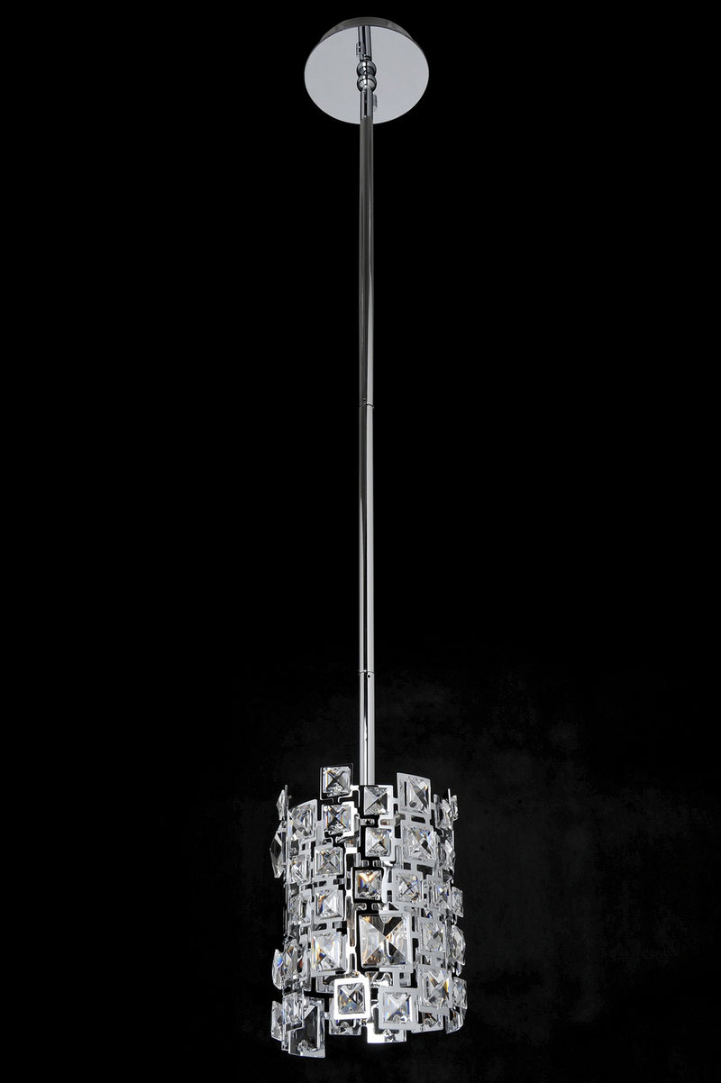 Allegri - 028950-010-FR001 - One Light Mini Pendant - Dolo - Chrome