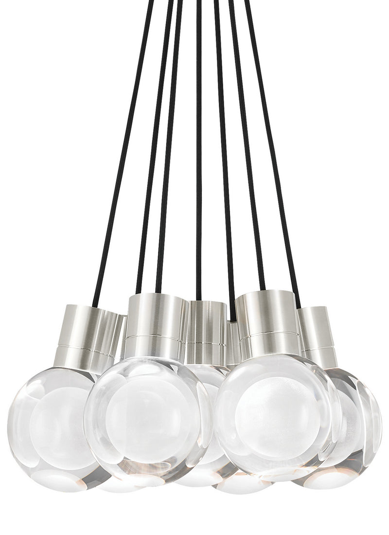 Tech Lighting - 700TDMINAP7CBS-LED930 - LED Pendant - Mina - Satin Nickel