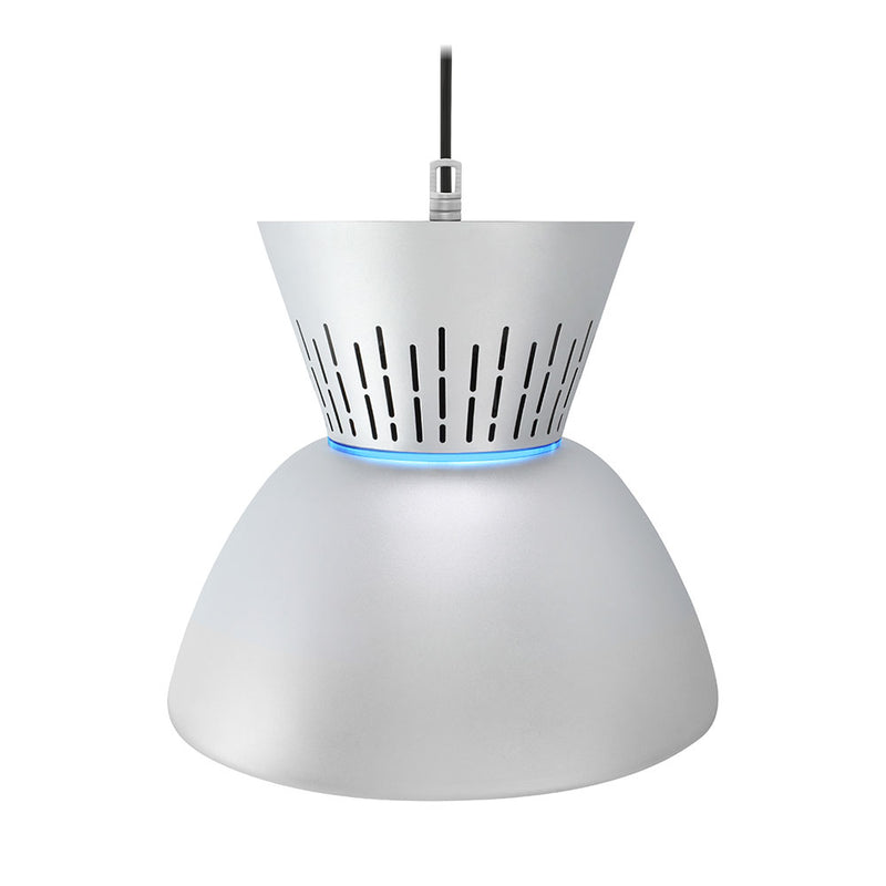 LAMPARA COLGANTE LED DECORATIVA INDUSTRIAL GRIS 50W 5000K