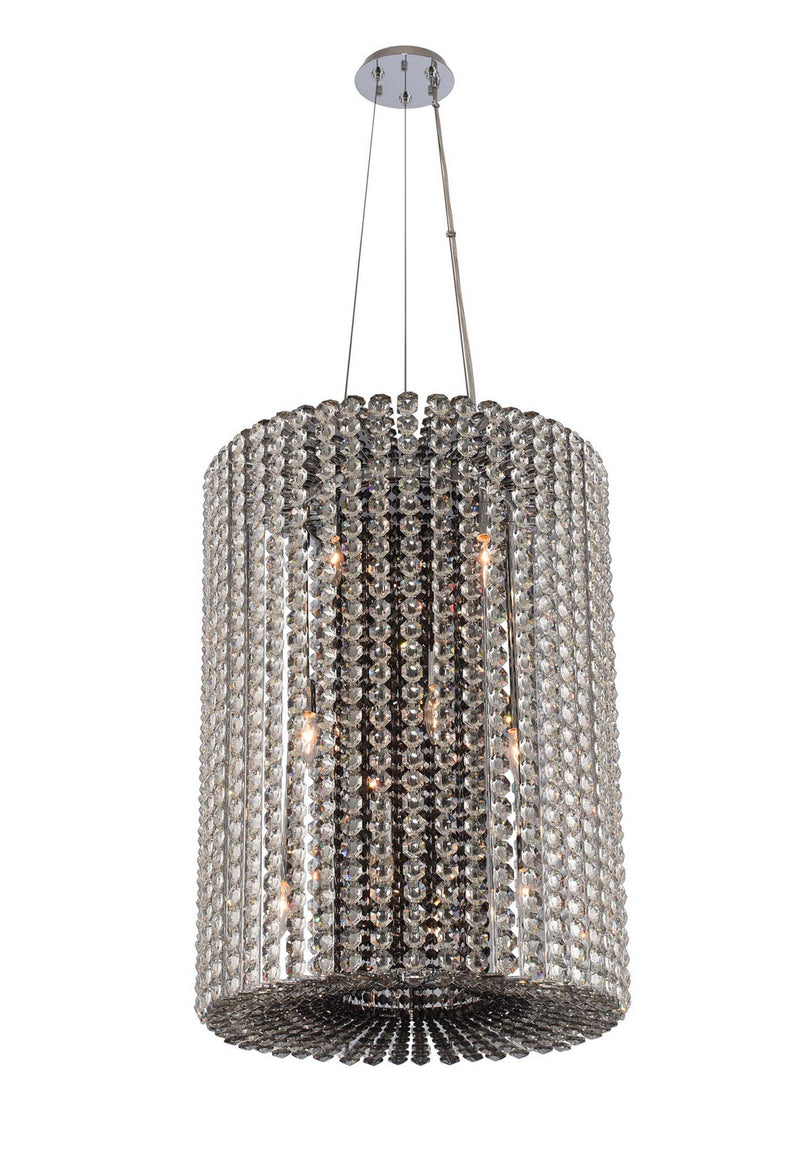 Allegri - 031450-010-FR000 - 12 Light Foyer Pendant - Anello - Chrome