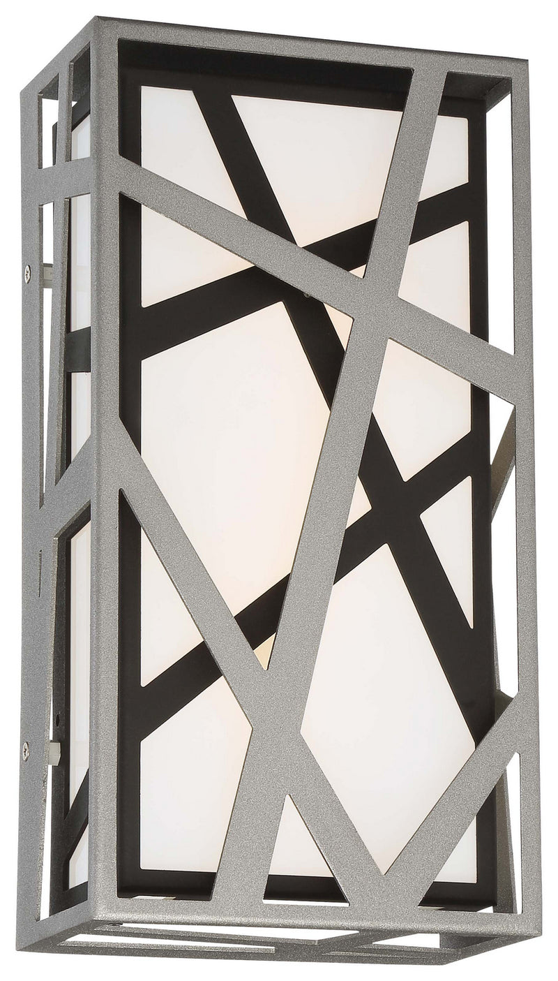 George Kovacs - P1147-658-L - LED Wall Sconce - Duvera - Sand Silver+Sand Coal