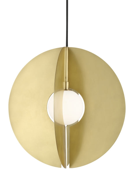 Tech Lighting - 700TDOBLRR-LED930 - LED Pendant - Orbel - Aged Brass