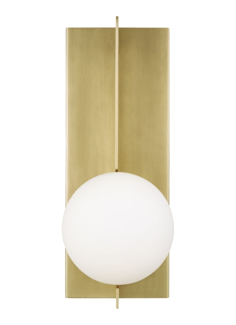 Tech Lighting - 700WSOBLR-LED930 - LED Wall Sconce - Orbel - Aged Brass