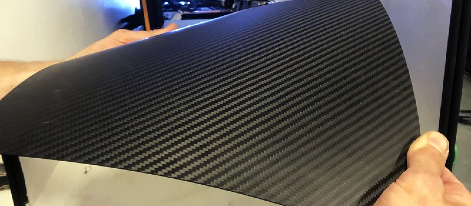 Carbon Fiber Build Plate Engineered Flexibility