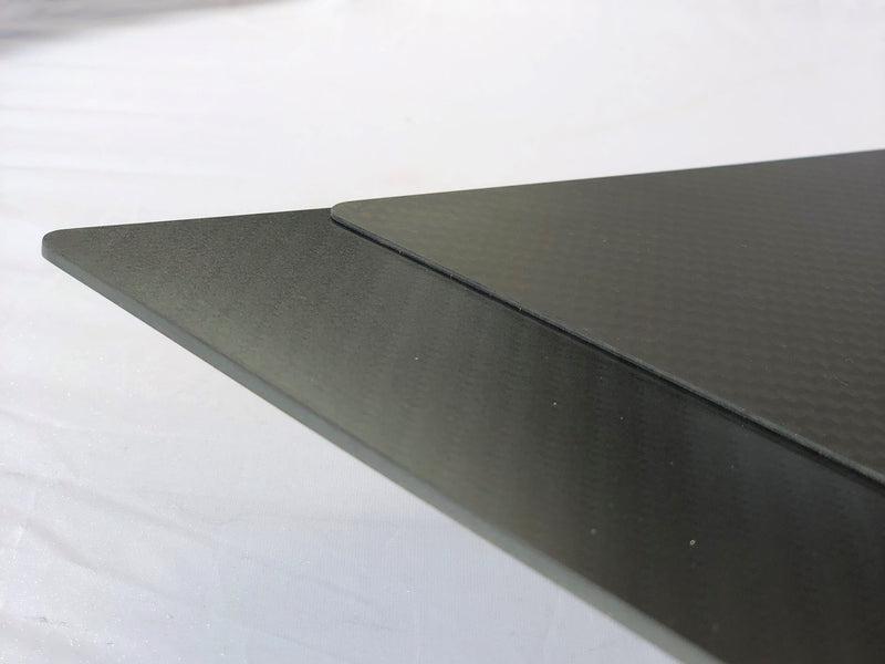 Custom Carbon Fiber Build Plate