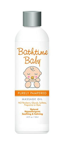 Purely Pampered Massage Oil