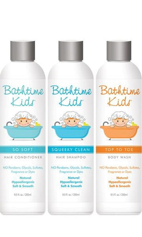 Bathtime Kids Gift Trio #3