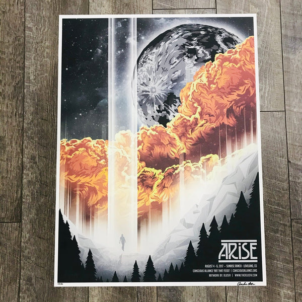 ARISE 2017 Festival - Screen Print Posters - Limited Poster
