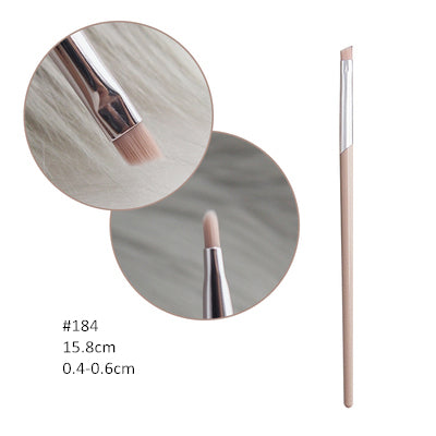 Fashion Beauty Cosmetic Brushes Nude Pink FB Powder Blusher Highlighter Brush Eyeshadow Blending Nose Eyebrow Lip Makeup Brushes