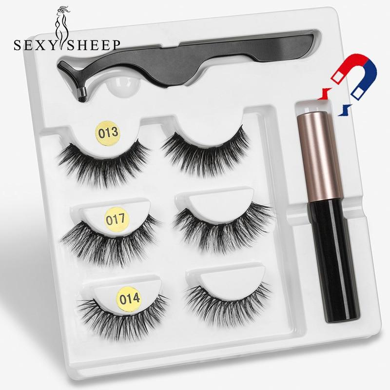 Magic Lightweight Magnetic Eyelashes  set