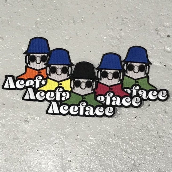 ACEFACE COLOURWAY PATCHES