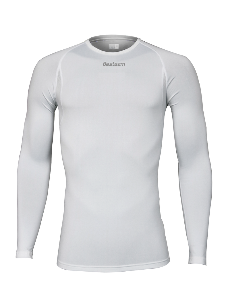 Compression Long Sleeve White
