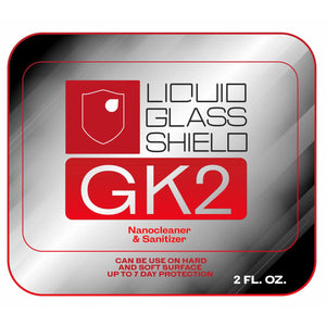 Liquid Glass Shield GK2 (1 Gallon)  - Water-Based Deep Cleaner & Sanitizer