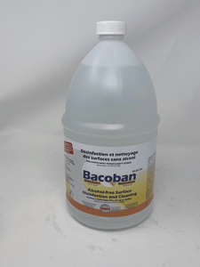 Bacoban 1 gallon 1% 10 Day Disinfectant And Cleaner  water based  the longest lasting disinfectant on the market .