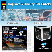 Load image into Gallery viewer, CRYSTALTECH NANO - Nano Liquid Glass Windshield Treatment