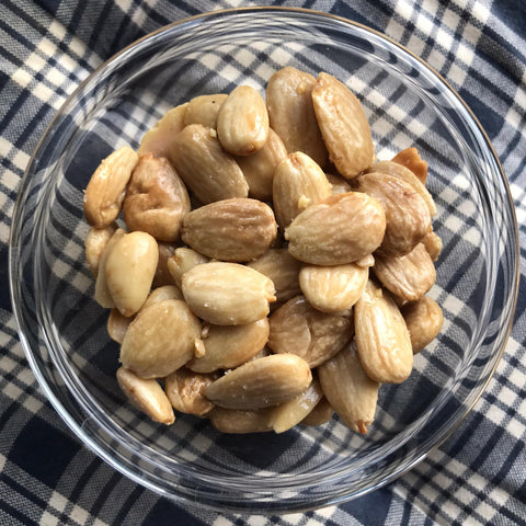 Salted Valencia Almonds