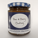 Pear & Perry Chutney