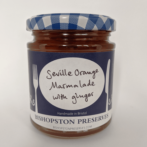 Seville Orange Marmalade with Ginger