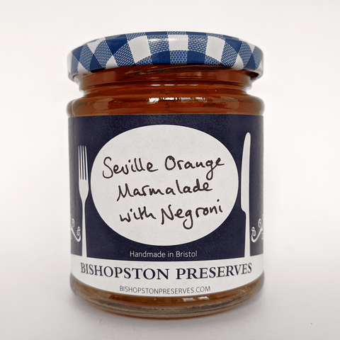 Seville Orange Marmalade with Negroni