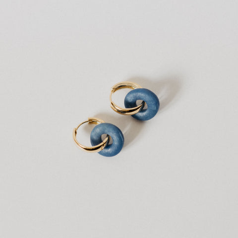 Hoop earrings - Donat