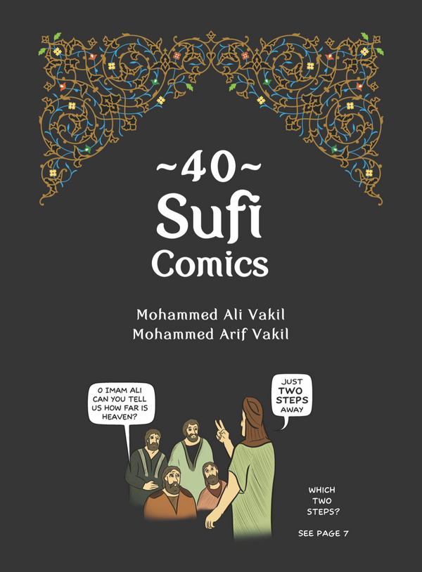 40 Sufi Comics (Volume 1)