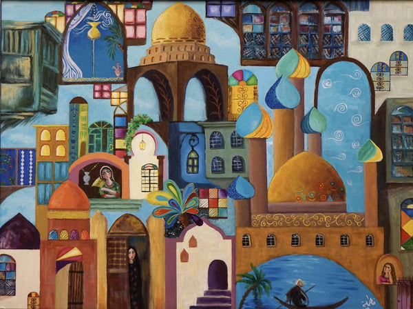 A vision into History- Arabian art