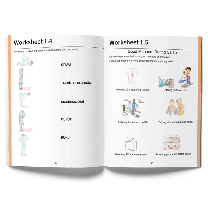Steps to Perfection | Grade K | Student Workbook
